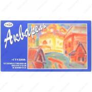 Краски акварельные Гамма Студия, художественные, полусухие, набор 24 цвета (ГАММА 215001)