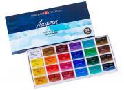 Акварельные художественные краски Ladoga 24 цвета