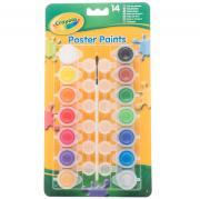 Набор красок для детского творчества, 14 цветов. Crayola 3978