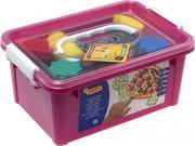 Набор для рисования руками JOVI в чемодане, 6 цветов пальчиковых красок + аксессуары