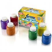 Crayola Краски с металлическим эффектом 6 цветов