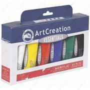 Краски акриловые Royal Talens ArtCreation Essential, набор 6 тюбиков по 75 мл (3582806M)