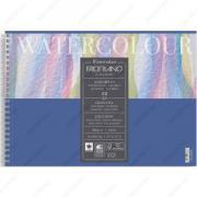 Альбом Fabriano Watercolor Studio Acquarello для акварели, 21x29,7см, 300г/м2, 12л, спираль по короткой стороне (17662129)