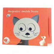 Котик магнитный блокнот для рисования и творчества для детей от 3 лет EGMONT 630702