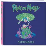 Рик и Морти. Скетчбук (твердый переплет, 96 стр., 240х200 мм)