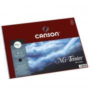 Альбом Canson Mi-Teintes, для пастели, на пружине, 16 листов, 160 гр/м2, 32 x 41 см
