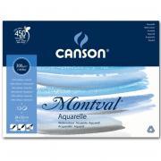 CN200006544 Блок для акварели Canson Montval, склеенный, 12 листов, 300 гр/м2