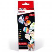 E-4-CH20+1 Набор edding Сolor Happy базовый комплект: 20 предметов + смешиватель цветов Brushpen Colour Mixer
