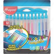 Фломастеры MAPED Long Life Innovation, набор 12 цветов (845045)