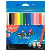 Фломастеры Maped Color'peps 12 цветов