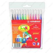Фломастеры Stabilo Power, набор 12 цветов (280/12-01)