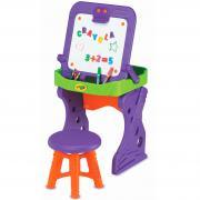 Парта-мольберт со стульчиком и аксессуарами для детей от 3 лет Grow n up 5003-01