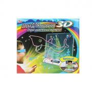 """Магическая 3D доска для рисования """"Magic Drawing Board"""" (Акула)"""