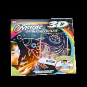 "Магическая 3D доска для рисования ""Magic Drawing Board"" (Ракета)"