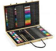 Большой художественный набор в чемоданчике DJECO 09750