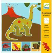 Djeco Набор трафаретов – Динозавры