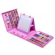 Набор для рисования Super Mega Art Set 208 предметов (Розовый)