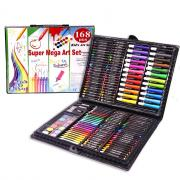 Набор для рисования Super Mega Art Set на 168 предметов (Черный)