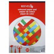 Бумага цветная 29,7х42см 120г/м2 20 листов на твердой подложке REEVES