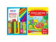 Цветная бумага ArtSpace A4 16 цветов Немелованная Нб16-16дв_4291