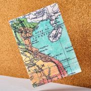 Обложка на паспорт new wallet- new voyager; сделан из tyvek® New wallet
