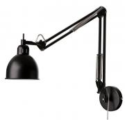 Лампа настенная Job, черная матовая Frandsen
