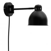Лампа настенная Job Mini, черная матовая Frandsen