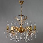 Люстра AMBIENTE by Brizzi Granada 2118/5 AB Leaf Crystal