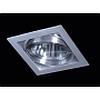 Светильник светодиодный встраиваемый, Цвет корпуса: Алюминий, Напряжение: 220 В, 105x105 Вт, IP20 - DN-QS-WW11-49381LD