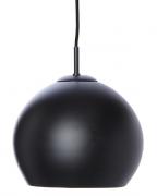 Лампа подвесная Ball, 25 см, черная матовая Frandsen