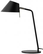 Лампа настольная Office, D18 см, черная матовая Frandsen