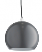 Лампа подвесная Ball Frandsen темно-серая матовая