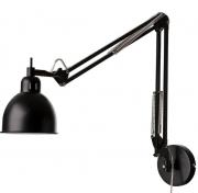 Лампа настенная Job, Frandsen черная матовая