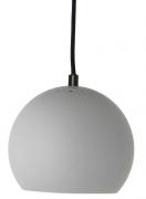 Лампа подвесная Ball, светло-серая, матовое покрытие Frandsen