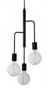Лампа подвесная Cool, Frandsen черная матовая