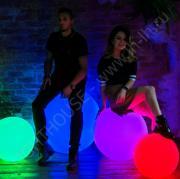 Светящийся шар разноцветный Moonlight 120 см Accum_YM