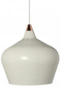 Лампа подвесная Cohen Large, белая матовая, белый шнур Frandsen