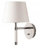 Лампа настенная Venice, белая, хром Frandsen