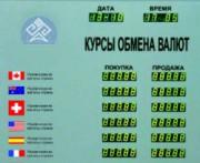Табло котировок валют Kobell TEK-6