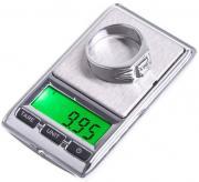 Миниатюрные электронные ювелирные весы ТЕХМЕТР TSC01201 (Серебристый)