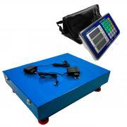 Беспроводные Bluetooth весы до 800 кг., Romitech BLES-800, платформа (50x60 см.), LCD, АКБ, счетные платформенные электронные