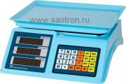 Весы настольные Мехэлектрон-М ВР-4900-30-2Д-ДБ-14 ВР4900-14 мехэлектрон-м весы торговые вр4900-30-2д-дб 14 (нпв:30 кг, светодиодный дисплей)