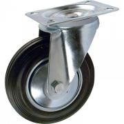 Колесная опора большегрузная обрезиненная SCD 42 (100 мм / поворотная)