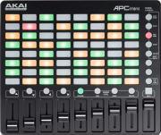 Akai Pro Apc Mini Usb - контроллер для Ableton, сетка Clip Launch 8x8, 8 поканальных фейдеров, 1 мастер фейдер