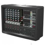 Behringer PMP560M Микшер со встроенным усилителем, 500 Вт, 6 каналов, процессор эффектов, функция подавления обратной связи, опции беспроводной системы