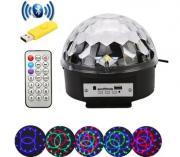 Диско шар светодиодный Led Magic Ball Light с Bluetooth