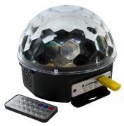 Диско шар Magic Ball Light MP3 с флешкой и пультом (цветомузыка)