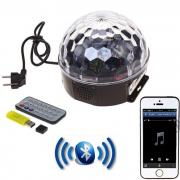 Дискошар LED Magic Ball Light Bluetooth