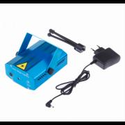 Лазерный проектор Mini Laser Stage Lightning (Синий)