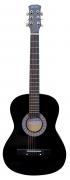 Terris Tf-3802a Bk - акустическая гитара 38 цвет Черный